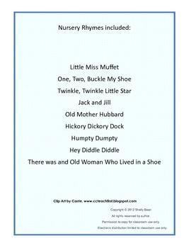 Nursery Rhyme Journal