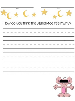 Nursery Rhyme Journal Prompts
