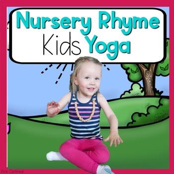 Nursery Rhyme KIDS Yoga Cards and Printables