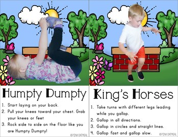 nursery rhyme kids yoga cards and printables  tpt
