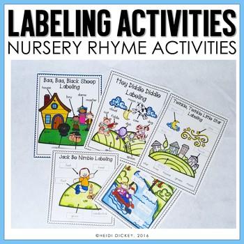 Nursery Rhyme Labeling Activities