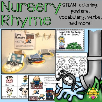Nursery Rhyme Learning Unit for Younger Grades
