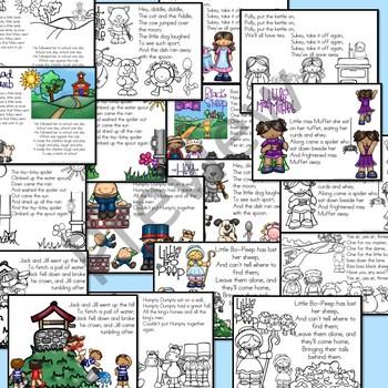 Nursery Rhyme Preschool Activities