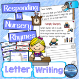 Nursery Rhyme Printables: Write a Letter to a Nursery Rhyme Character