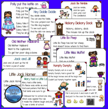 picture relating to Printable Nursery Rhyme identified as Nursery Rhyme Printables: Create a Letter towards a Nursery Rhyme Individuality