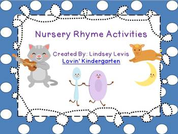 Nursery Rhyme {Literacy Bundle}