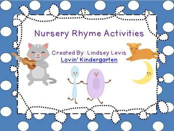 Nursery Rhyme {Literacy Bundle}