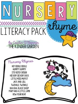 Nursery Rhyme Literacy Pack