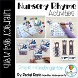 Nursery Rhyme Literacy and Math Activities