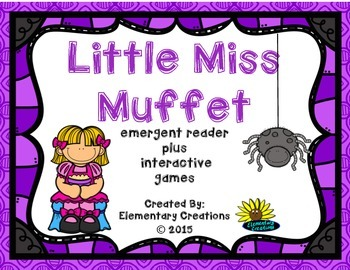 Nursery Rhyme Little Miss Muffet