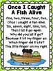 Nursery Rhyme Math Freebie! {1, 2, 3, 4, 5, Once I Caught A Fish Alive}