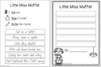 Nursery Rhyme MEGA Bundle *Aligned to Australian Curriculum Outcomes!*