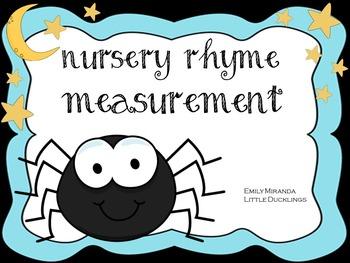 Nursery Rhyme Measurement and Graphing