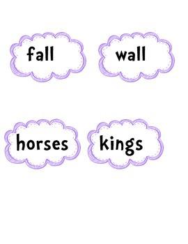 Nursery Rhyme Memory Game