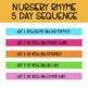 Nursery Rhyme Mini Unit: Humpty Dumpty