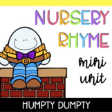 Nursery Rhyme Mini Unit: Humpty Dumpty