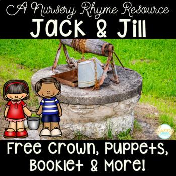 Nursery Rhyme Mini Unit- Jack and Jill Freebie!