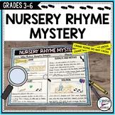 Nursery Rhyme Mystery Project Mystery Activity Halloween Activity