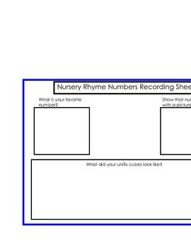 Nursery Rhyme Numbers