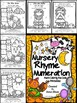 Nursery Rhyme Numeration ~ Color By The Number Code Math Puzzles