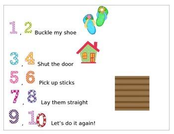 Nursery Rhyme One Two Buckly My Shoe