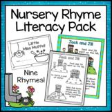 Nursery Rhymes - Literacy Activities