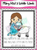 Nursery Rhyme Posters- Mary Had a Little Lamb