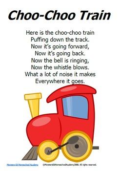 Nursery Rhyme Posters - SET 1