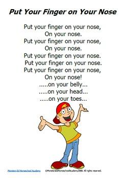 Nursery Rhyme Posters - SET 2