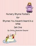 Nursery Rhyme Posters Set One