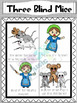 Nursery Rhyme Posters- Three Blind Mice
