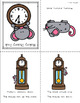 Nursery Rhyme Posters and Mini Books:  Hickory Dickory Dock