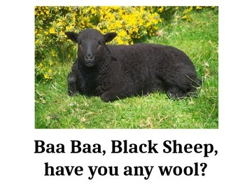 Nursery Rhymes Power Point - Baa Baa Black Sheep