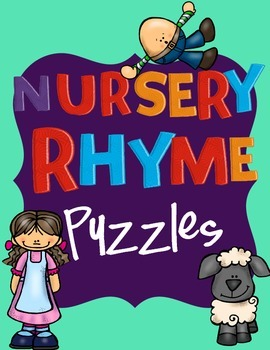Nursery Rhyme Puzzle Set