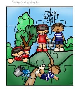 Nursery Rhyme Puzzle Set