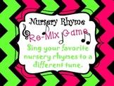 Nursery Rhyme Re-Mix Game