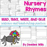 Nursery Rhyme: Read, Trace, Glue, and Draw