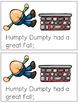 Reading Fluency Activity - Nursery Rhyme Reader: Humpty Du