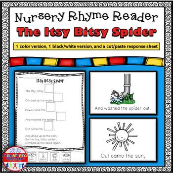 Reading Fluency Activity - Nursery Rhyme Reader: Itsy Bits