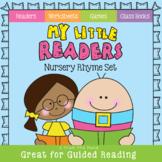 Nursery Rhyme Readers - Printable Blackline Mini Readers