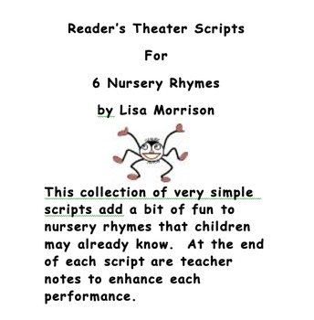 Nursery Rhyme Reader's Theater