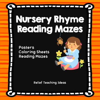 Nursery Rhyme Reading Mazes