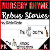 Nursery Rhyme Activities - Rebus Pack