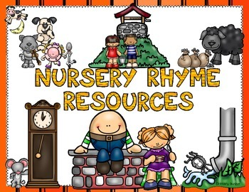 Nursery Rhyme Resources Label FREEBIE