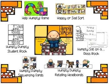 Nursery Rhyme Resources Set #1