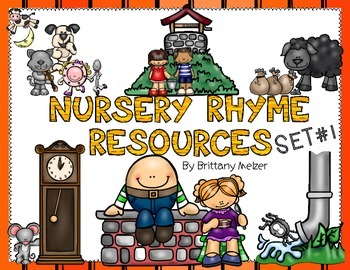 Nursery Rhyme Resources Set #1