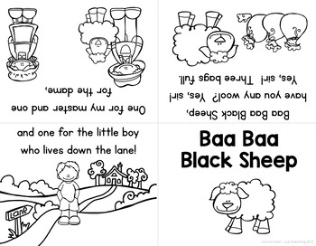 Nursery Rhyme Activities