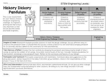 STEM: Pendulum Tower