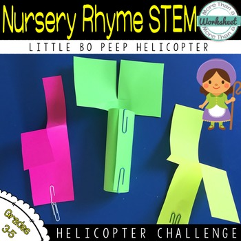 STEM Paper Helicopter