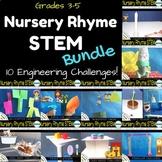 STEM Engineering Challenge Bundle {10 Nursery Rhyme Challe